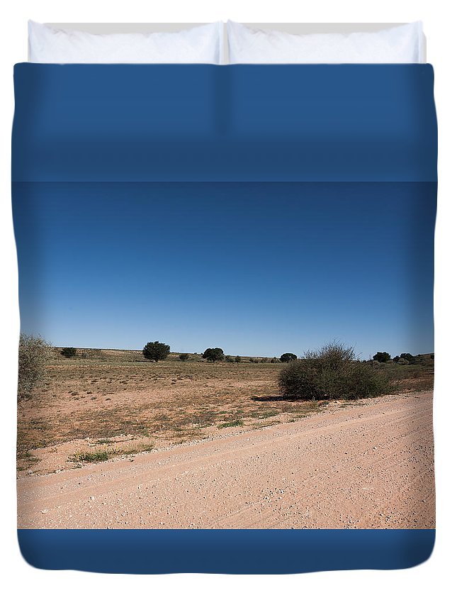 Kgalagadi Duvet Cover featuring the photograph Kgalagadi by Davide Guidolin