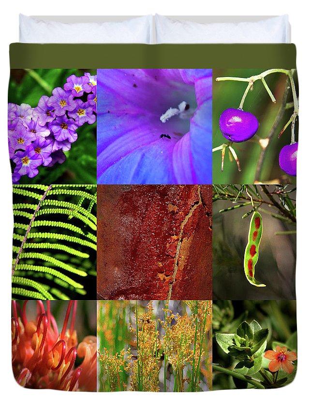 Kingdom Duvet Cover featuring the photograph Kingdom Plantae by Miroslava Jurcik