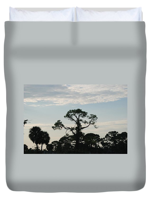 Kite Duvet Cover featuring the photograph Kite In The Tree by Rob Hans
