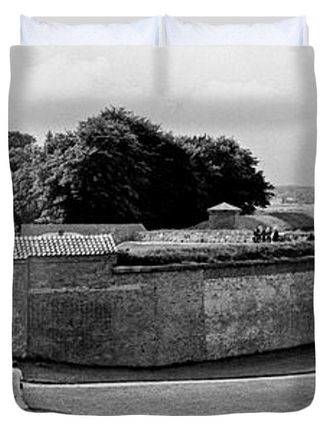 Hamlet's Castle Duvet Cover featuring the photograph Kronborg Castle 3 by Lee Santa