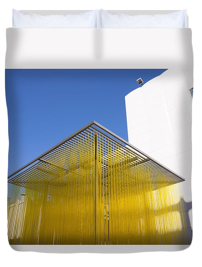 Lacma Duvet Cover featuring the photograph Lacma by Erick Kim
