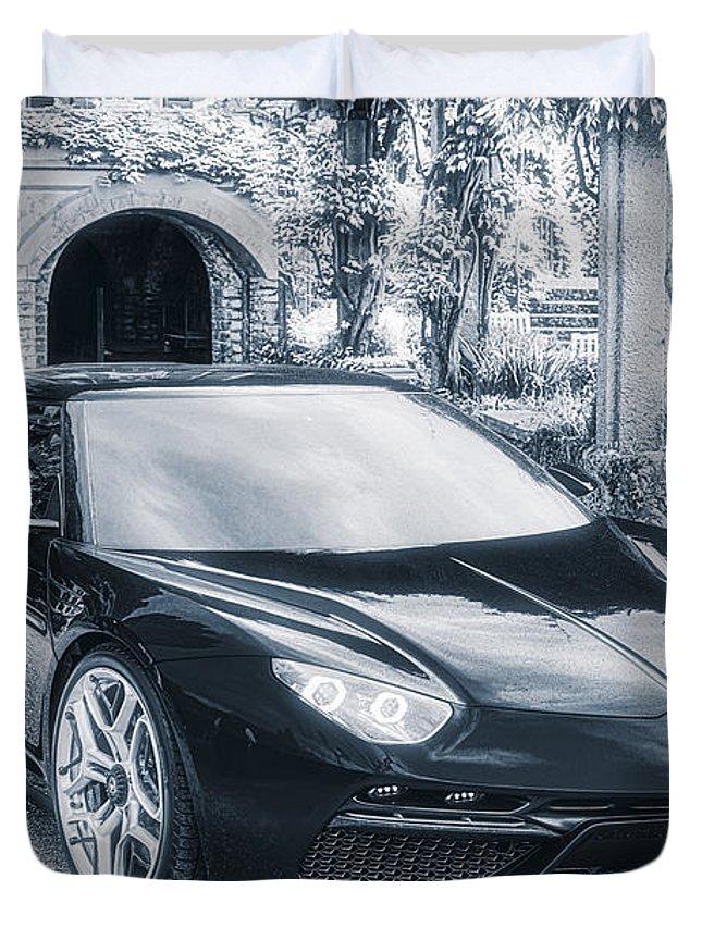 Lamborghini Asterion Lpi 910 4 Concept Duvet Cover For Sale By