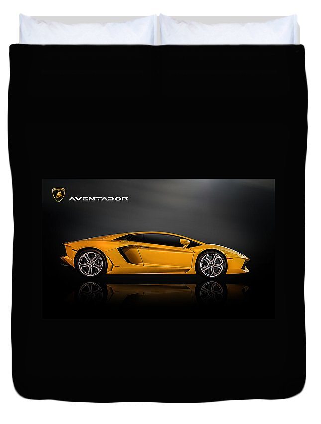 Lamborghini Aventador Duvet Cover For Sale By Douglas Pittman