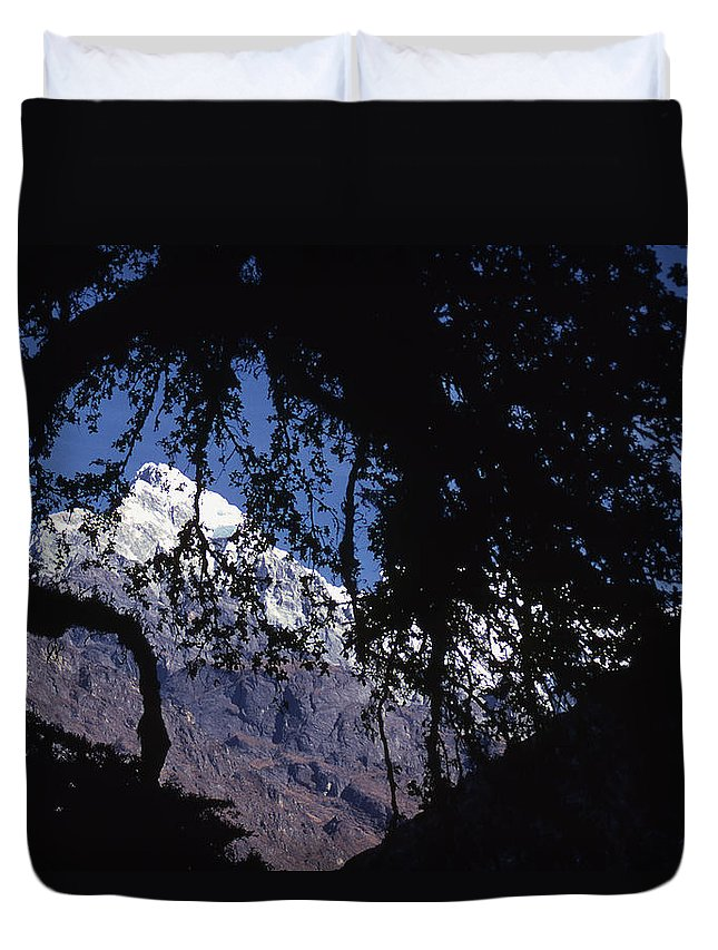 Langtang Duvet Cover featuring the photograph Langtang by Patrick Klauss