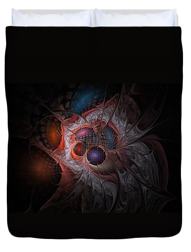 Lazarus Duvet Cover featuring the digital art Lazarus Eleven by NirvanaBlues