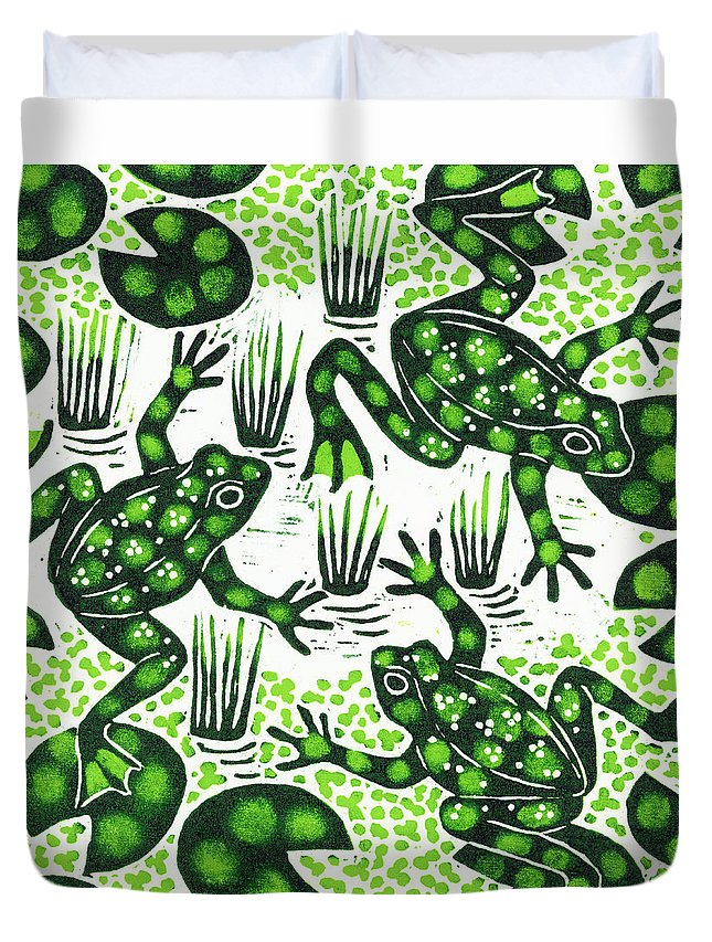 Frogs Duvet Covers