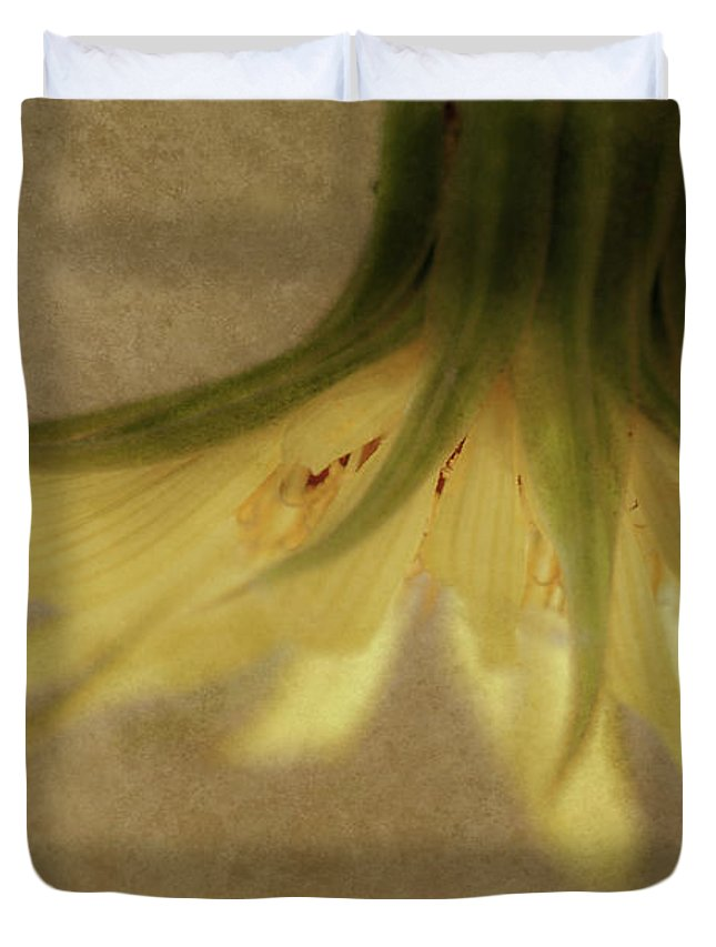 Flowers Duvet Cover featuring the photograph Lempa by Greg Collins