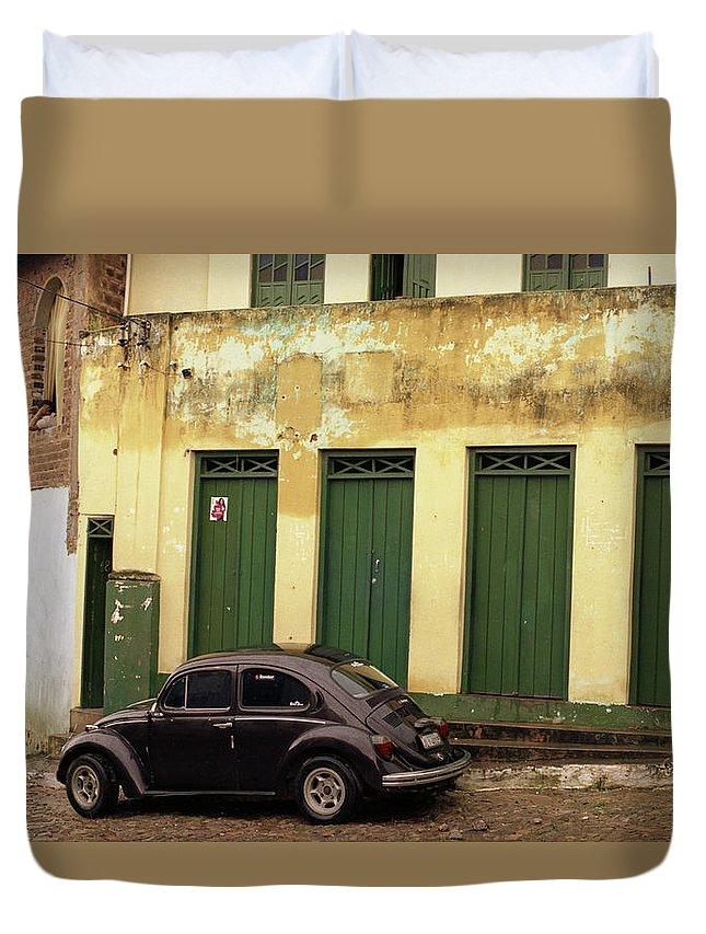 Bahia Duvet Cover featuring the photograph Lencois - Bug by Patrick Klauss