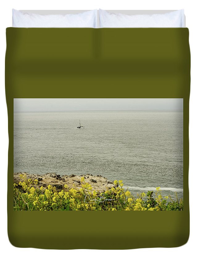 Oregon Duvet Cover featuring the photograph Let's Go Fishing by Nick Boren