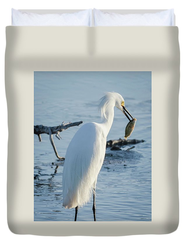 Nature Duvet Cover featuring the photograph Life And Death by Steve Marler