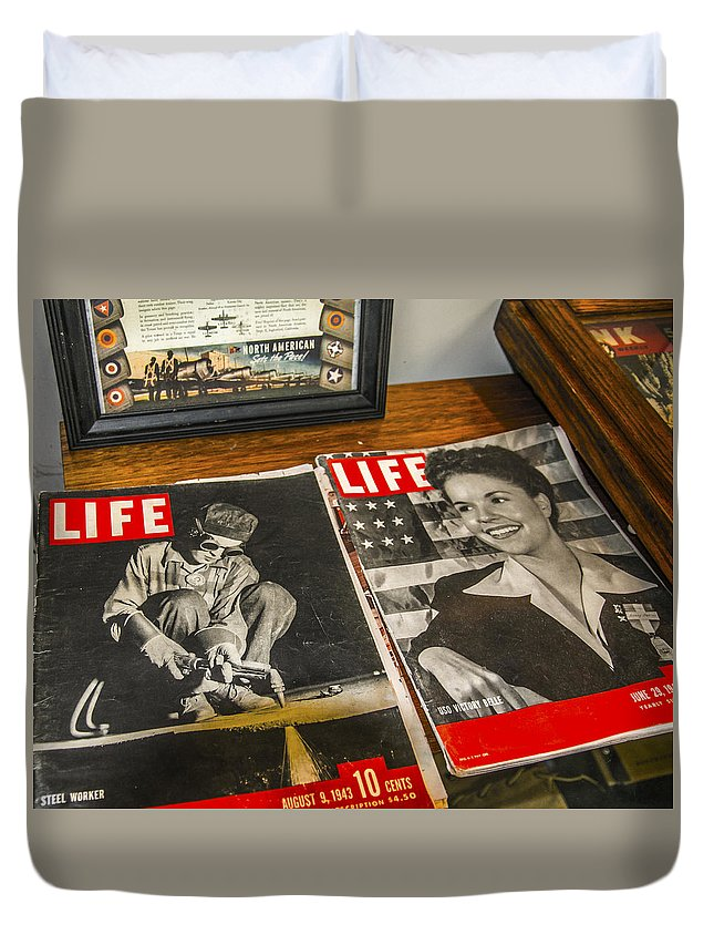 Life Duvet Cover featuring the photograph Life by Jim Markiewicz