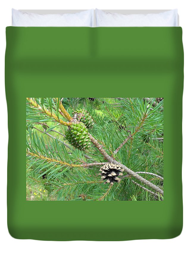 Nature Duvet Cover featuring the photograph Life Moves On by Peggy King