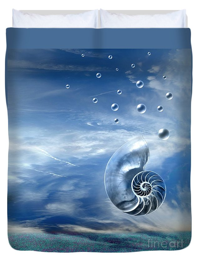 Surreal Duvet Cover featuring the photograph Life by Jacky Gerritsen