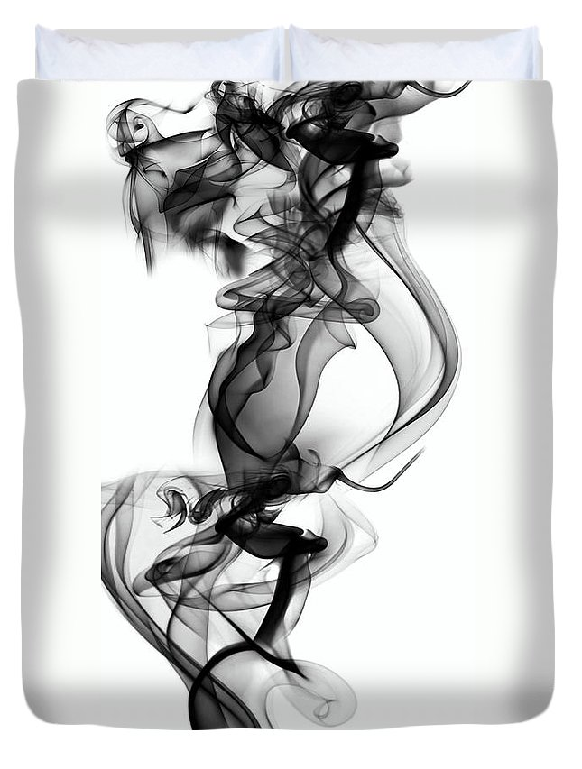 Clay Duvet Cover featuring the digital art Lift by Clayton Bruster