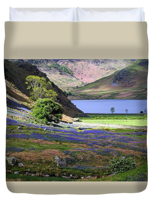 Light Duvet Cover featuring the photograph Light And Shadows by Susan Tinsley