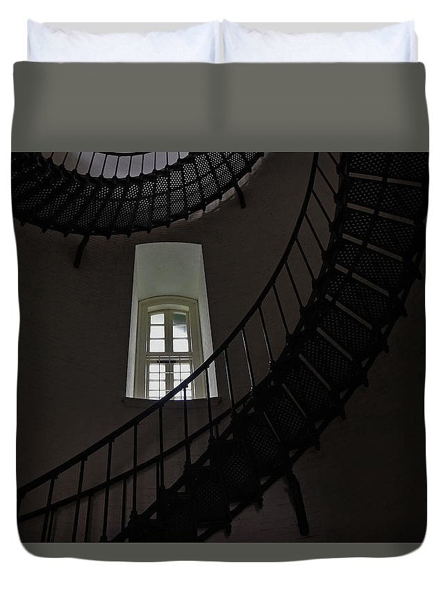 North Florida Duvet Cover featuring the photograph Light Source by Rick Bravo
