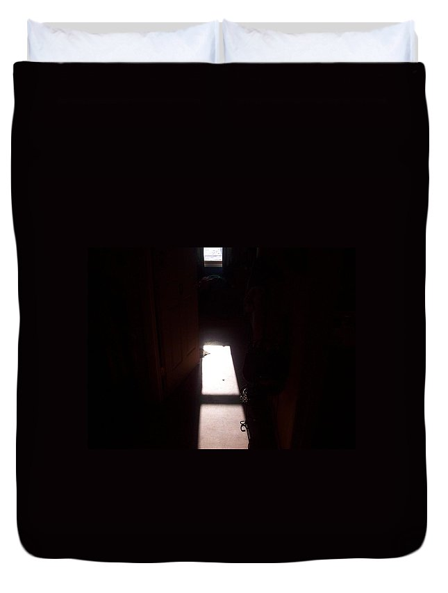 Duvet Cover featuring the photograph Light by Wolfgang Schweizer