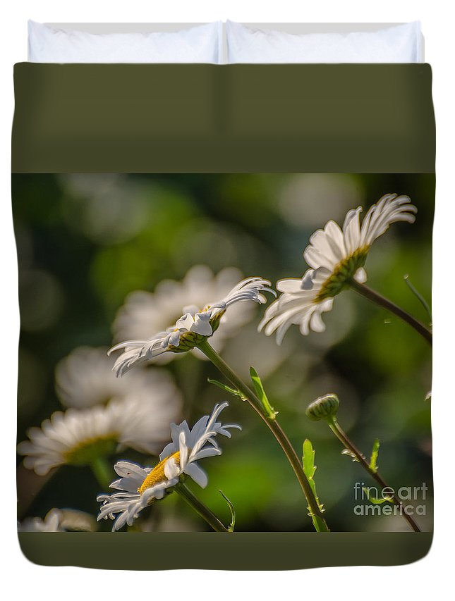 Landscape Duvet Cover featuring the photograph Like Children by Lyudmila Prokopenko