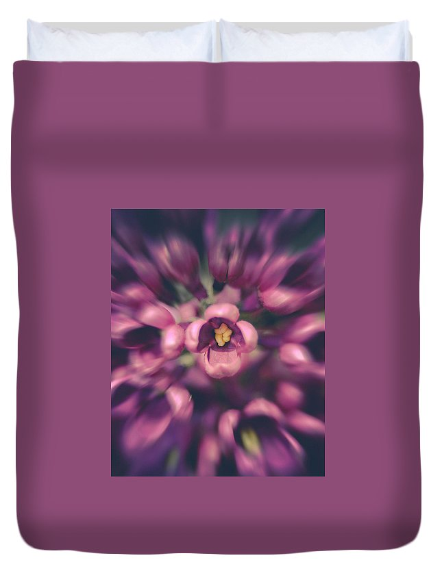 Lilacs Duvet Cover featuring the photograph Lilacs Gone Wild by Debi Bishop