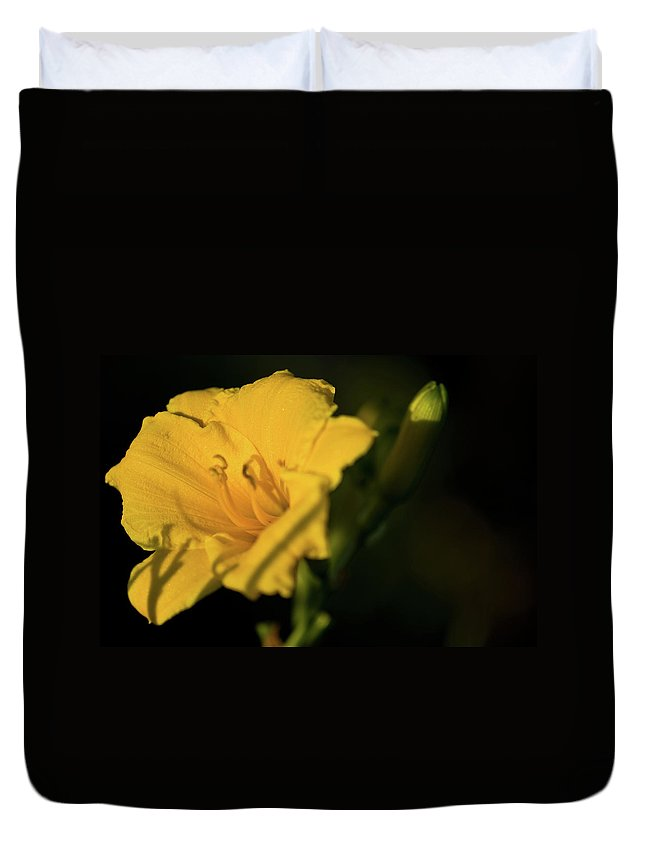 Lily Duvet Cover featuring the photograph Lily by Paul Mangold