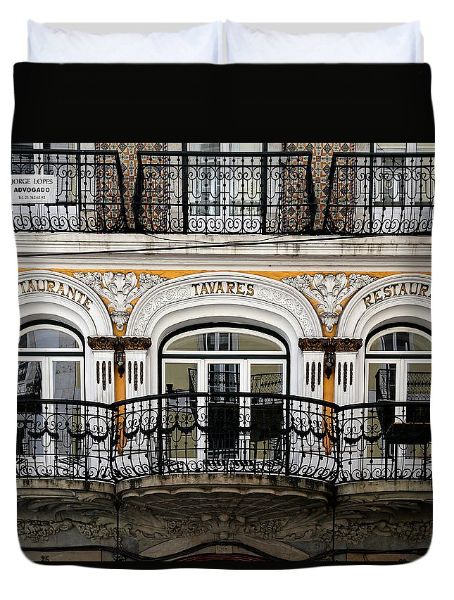 Lisbon Duvet Cover featuring the photograph Lisbon 16 by Andrew Fare