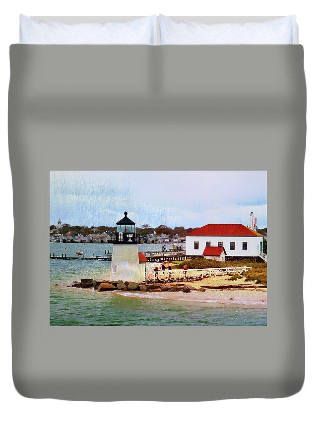 Cape Duvet Cover featuring the photograph Little Cape Light by JAMART Photography