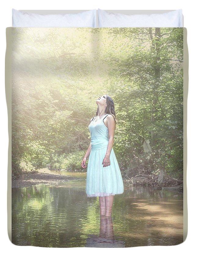 Kremsdorf Duvet Cover featuring the photograph Live. Love. Dream. by Evelina Kremsdorf