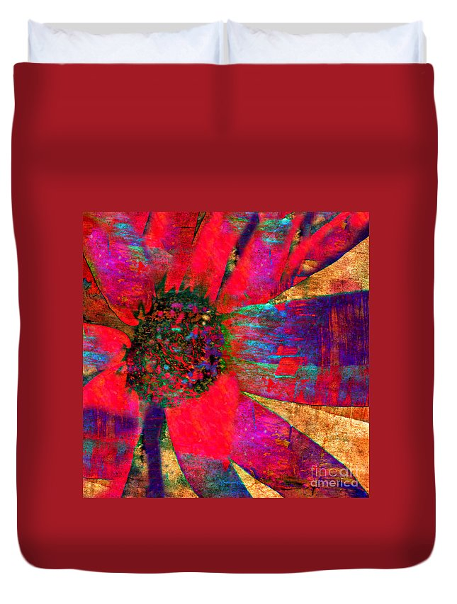 Anne Alfaro Duvet Cover featuring the photograph Living Color by Anne Alfaro