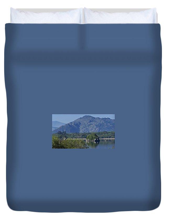 Irish Duvet Cover featuring the photograph Loch Leanne Killarney Ireland by Teresa Mucha