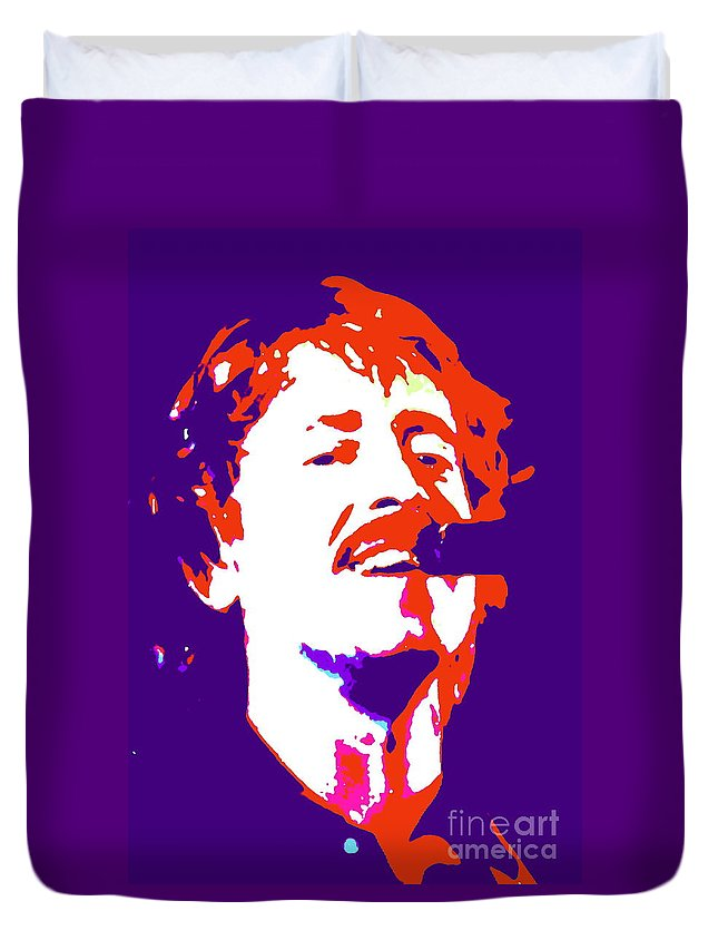 Musician Duvet Cover featuring the photograph Lochinvar by Jesse Ciazza