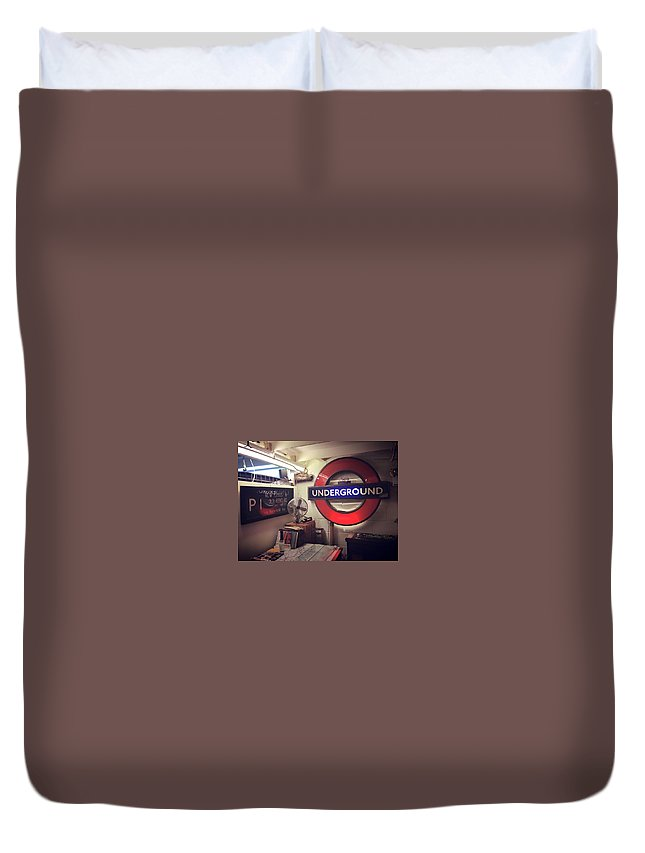 London Duvet Cover featuring the photograph London Details by Rossana Azzoni