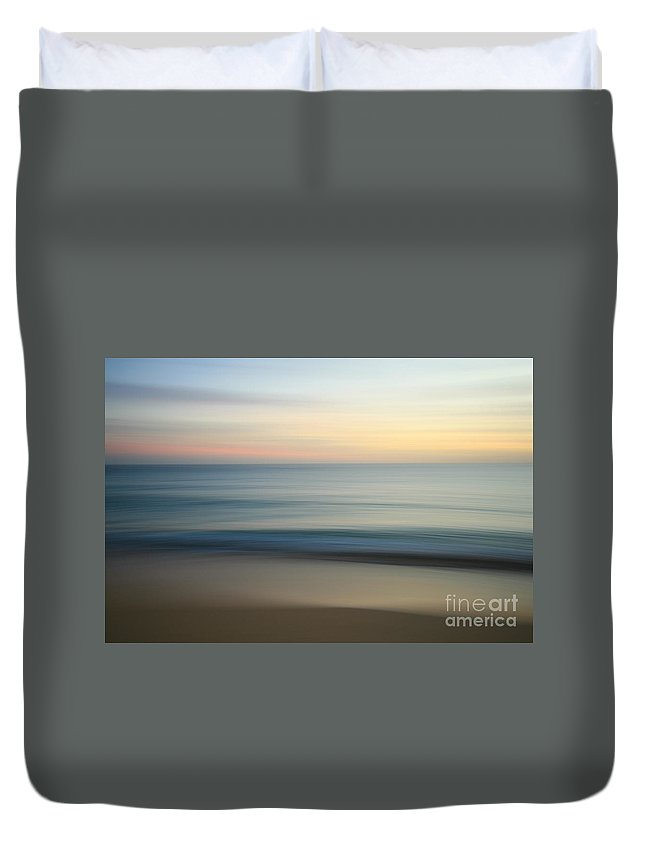 Long Exposure Duvet Cover featuring the photograph Long Exposure by Byron Fair