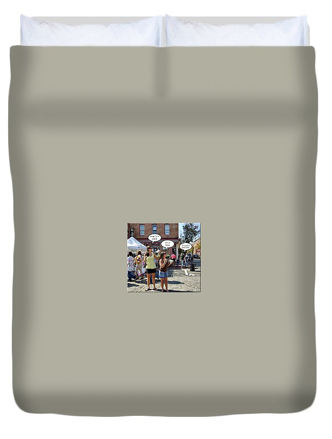 2d Duvet Cover featuring the photograph Look Up In The Sky by Brian Wallace