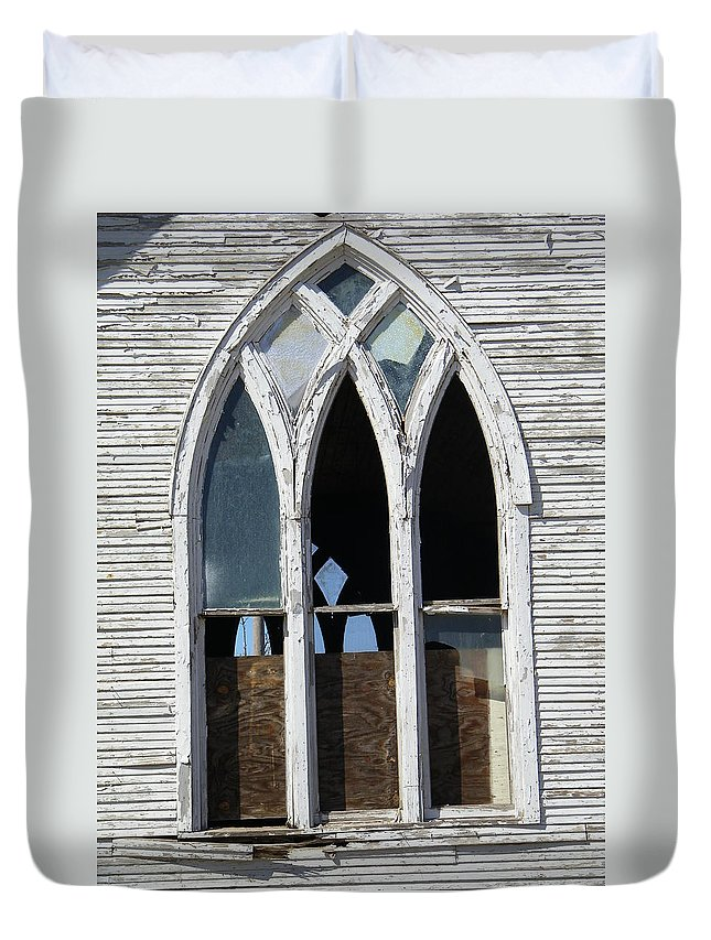 Church Duvet Cover featuring the photograph Lost by Gale Cochran-Smith