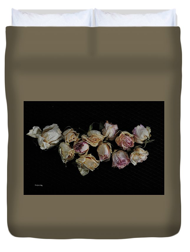 Dark Duvet Cover featuring the photograph Lots Of Lost Glory by Randi Grace Nilsberg