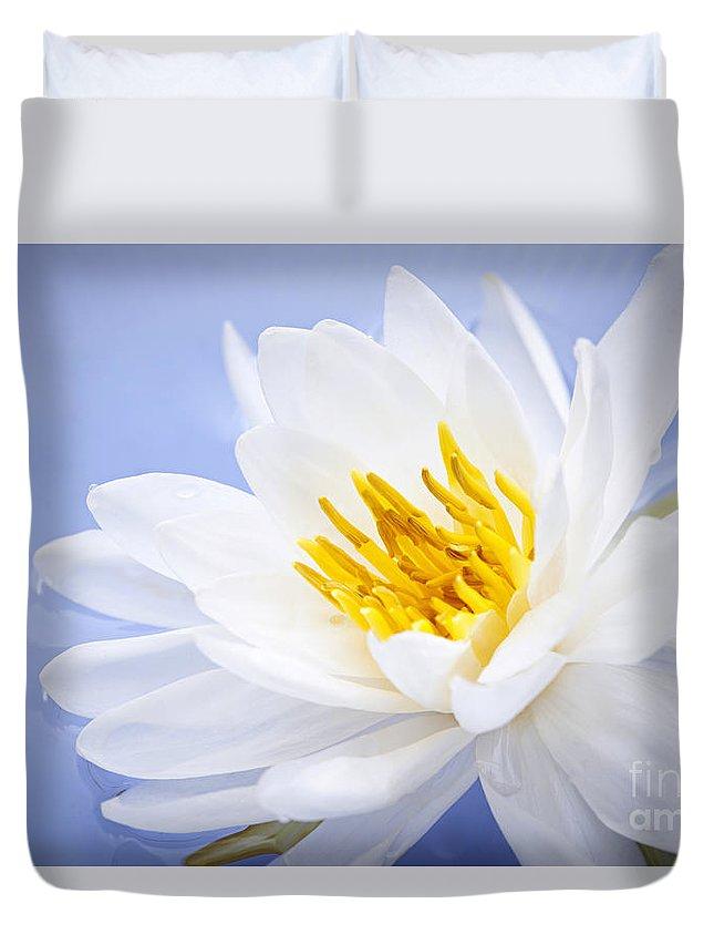 Lotus Flower Duvet Cover For Sale By Elena Elisseeva