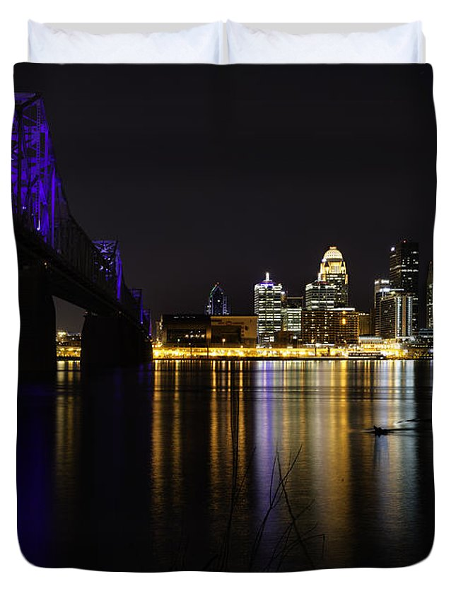 Louisville Kentucky Duvet Cover featuring the photograph Louisville Kentucky 2 by Kevin Whitworth