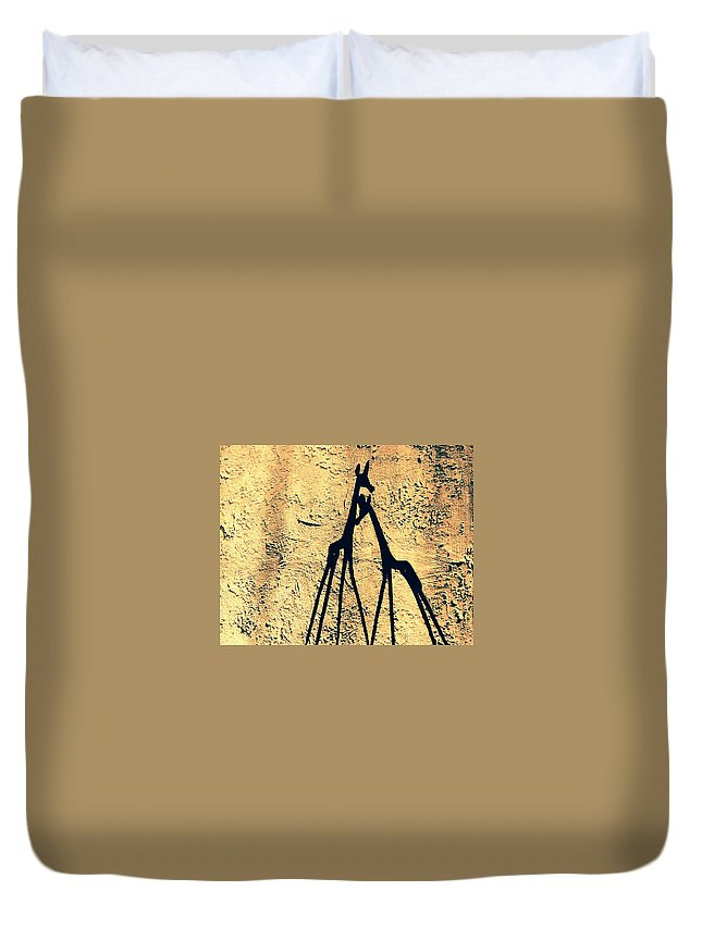 Prints Duvet Cover featuring the photograph Love Always Wins by The Designing Missionary