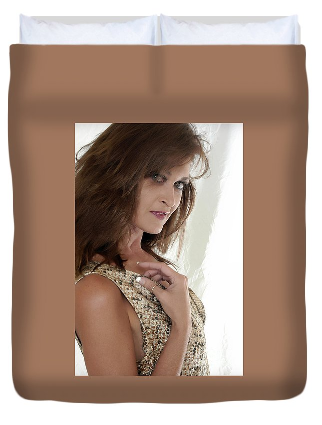 Clay Duvet Cover featuring the photograph Love At First Sight by Clayton Bruster