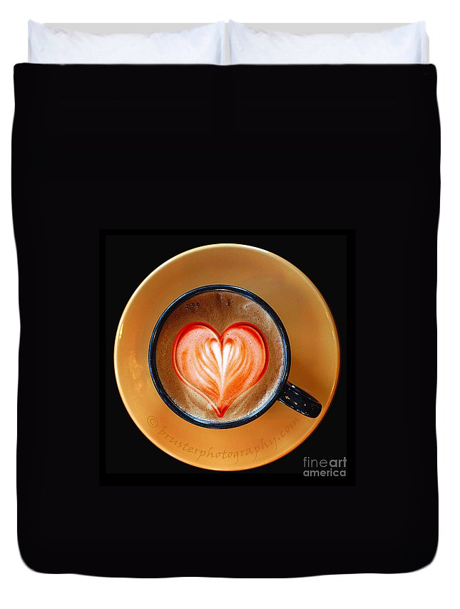 Clay Duvet Cover featuring the photograph Love Is . . . by Clayton Bruster