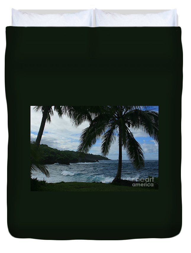 Aloha Duvet Cover featuring the photograph Love Is Eternal by Sharon Mau
