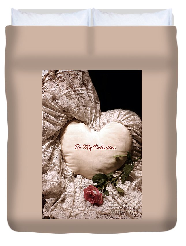 Love Duvet Cover featuring the photograph Love Victorian Style 2 by Madeline Ellis