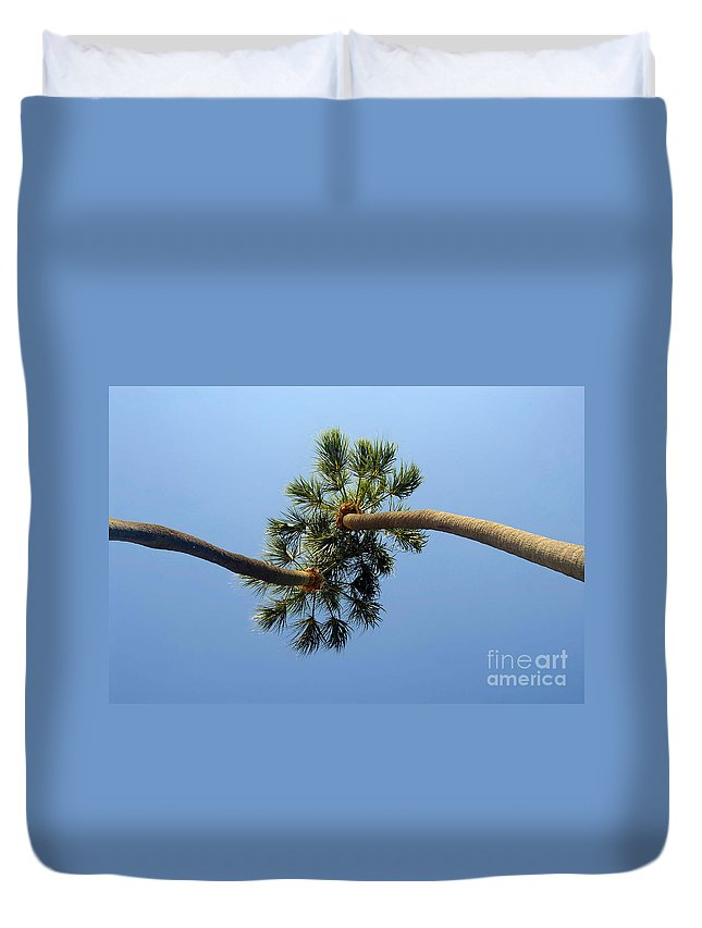Love Duvet Cover featuring the photograph Lovers by David Lee Thompson