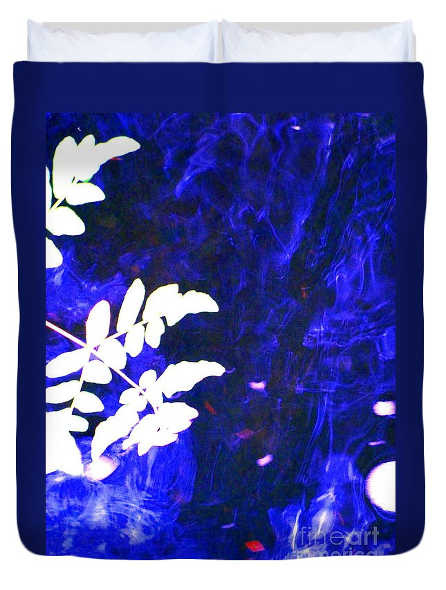 Water Art Duvet Cover featuring the photograph Lucid Dreaming by Sybil Staples