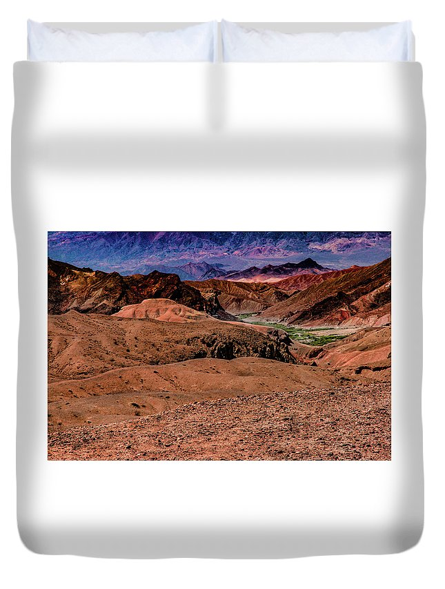 Peaceful Duvet Cover featuring the photograph Lullaby by Robin Lyn
