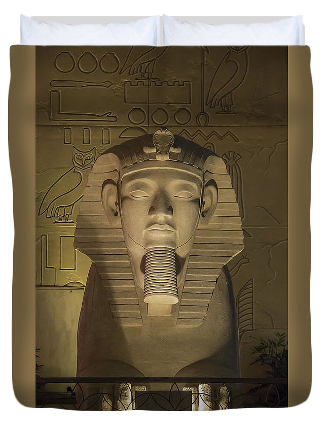 2015 Duvet Cover featuring the photograph Luxor Interior 2 by Teresa Mucha