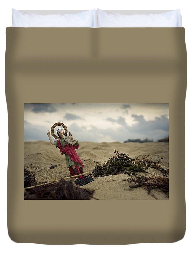 Spain Duvet Cover featuring the photograph Made In China Saint Pancras by Rafa Rivas