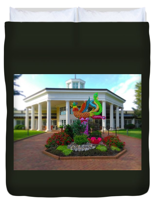 Duvet Cover featuring the photograph Magic Begins by Rodney Lee Williams