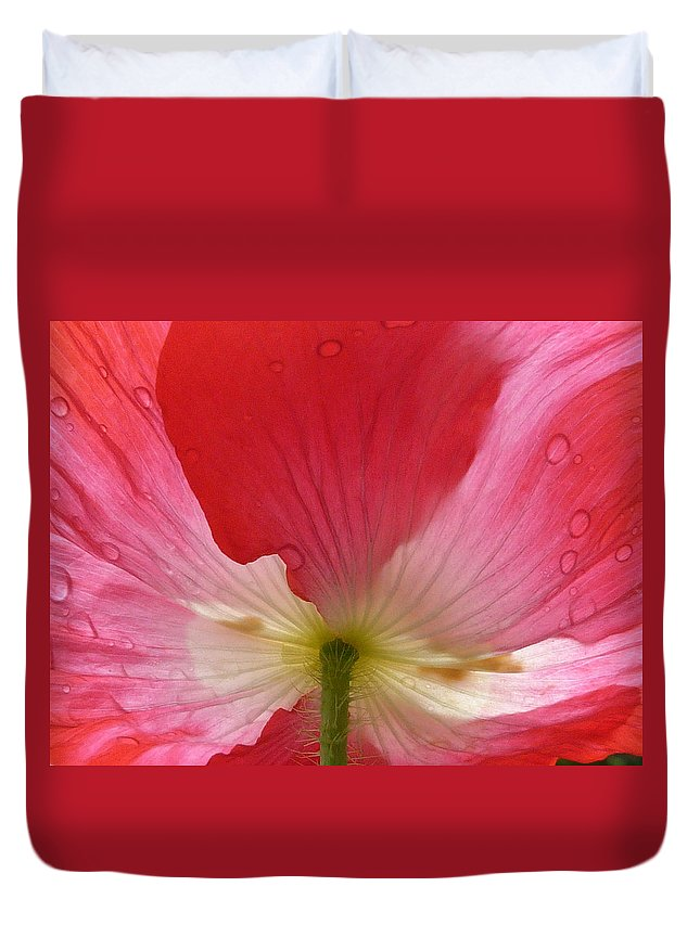 Flowers Duvet Cover featuring the photograph Magic by Satish Kumar