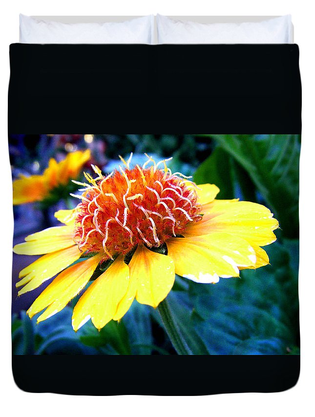 Flower Duvet Cover featuring the photograph Magical Flower by Cynthia McCullough